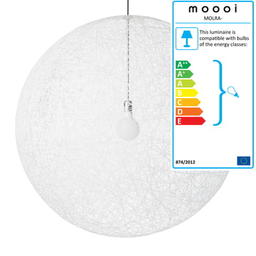 Moooi Random Light, white