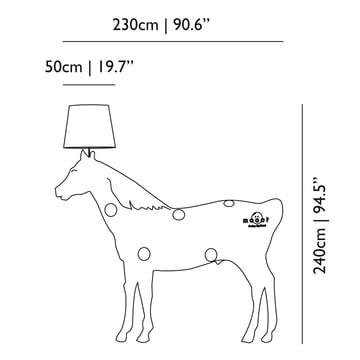 Moooi - Horse Lamp - Measures