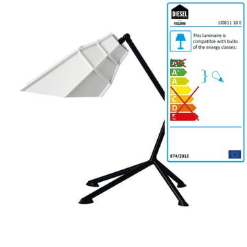Diesel Pett Table Lamp, white
