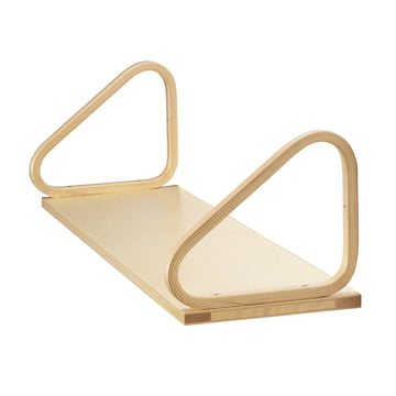 Artek wall shelf 112B, birch