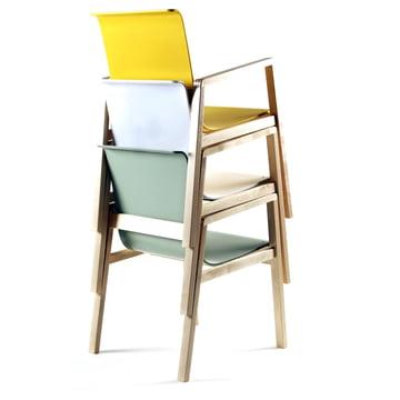 Artek - 403 Hallway Armchair, stacked