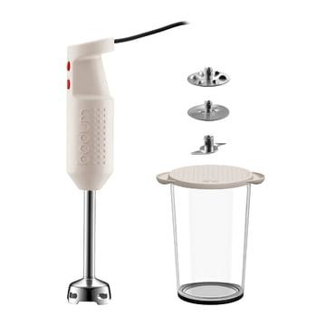 Bodum - Bistro Hand Blender with accessories, white