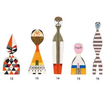 Vitra - Wooden Dolls - group 12-16