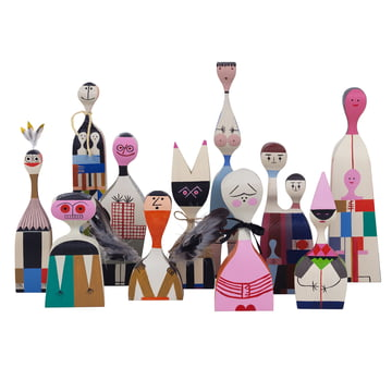 Vitra - Wooden Dolls - group