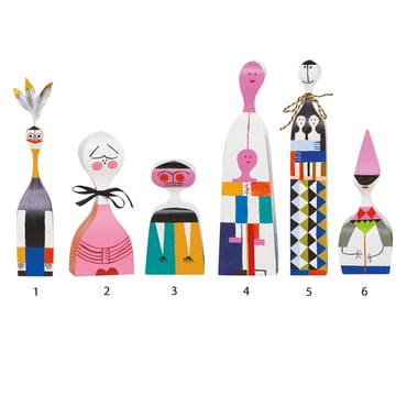 Vitra - Wooden Dolls - group 1-6