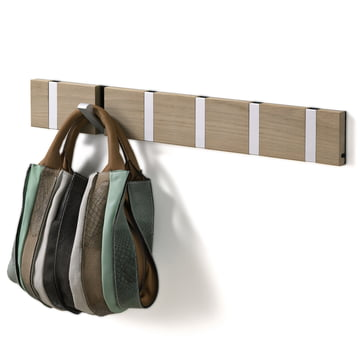 LoCa - Knax coat rack 6 in oak