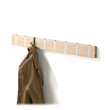 Loca Knax 8 cloak rail, beech