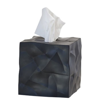 Essey - Wipy-Cube tissue box, black