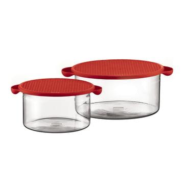 Bodum - Hot Pot, set of 2, red