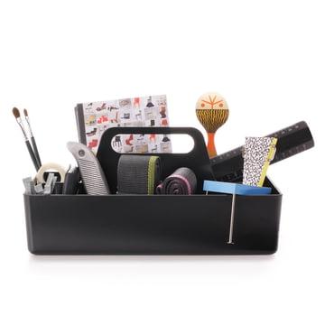 Vitra - Storage Toolbox basic dark, with working materials