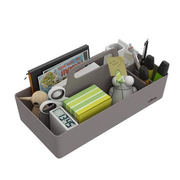 Vitra - Storage Toolbox mauve grey, filled