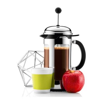Bodum Canteen Coffee Mug and Chambord Coffee Jug