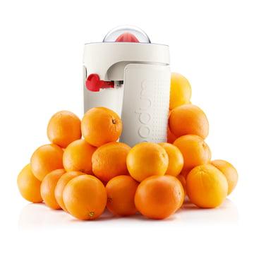 Bodum - Bistro Electric Juicer with oranges