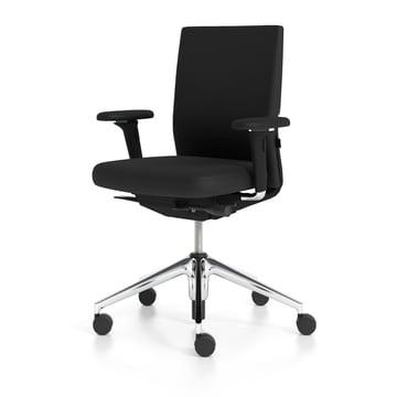 Vitra - ID Soft, nero / aluminium polished