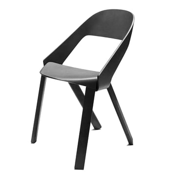 Wogg 50 chair, black