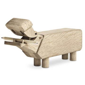 Wooden Hippo by Kay Bojesen