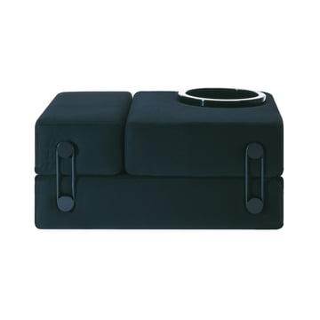Kartell - Trix Seat, slate grey