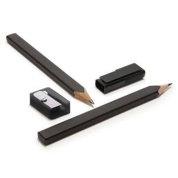Moleskine - Pencil-Set with sharpener and cap