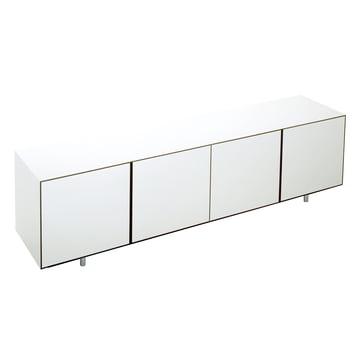 Wogg 36 Sideboard - 4 Doors, HPL white