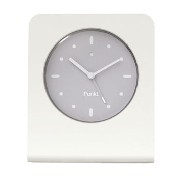 Punkt. - Analog Alarm Clock AC 01, white