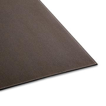 Ruckstuhl - Carpet Feltro, grey brown 70040 - edge