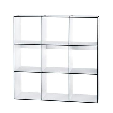 Hans Hansen - Module Shelf HP 3x3, white
