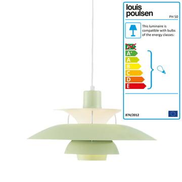 Louis Poulsen - PH 50 Pendant Lamp, wasabi green