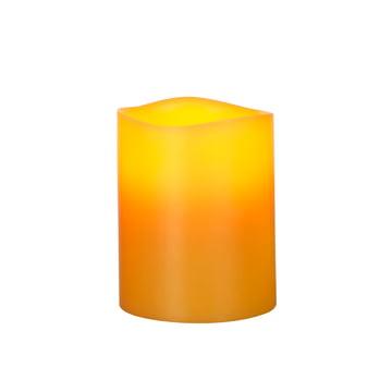 LED Real Wax Candle, bee wax M
