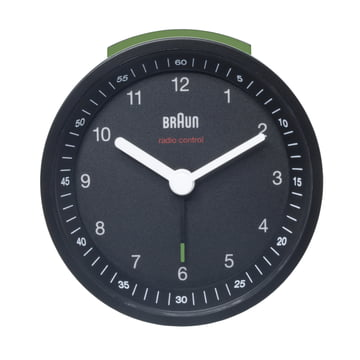 Braun Radio-Controlled Alarm Clock BNC007, black