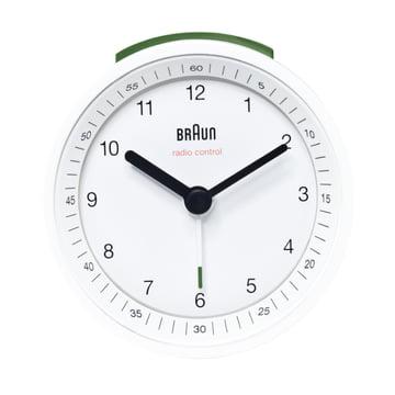 Braun Radio-Controlled Alarm Clock BNC007, white