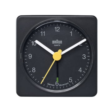 Braun Travelling Alarm Clock BNC002 (AB1), black