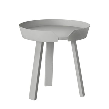 Muuto - Around sidetable small, grey