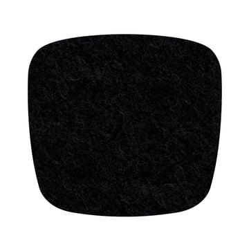 Hey Sign - Felt-Cover Eames Plastic Armchair, black 5mm AR