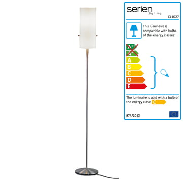 Club Floor Lamp S, white