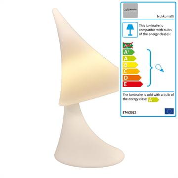 Studio Aarnio - Nukkumatti Lamp, white