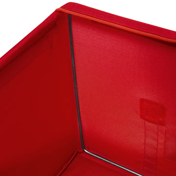 reisenthel - Storagebox, red - details image, edge inside