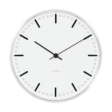 aj city hall wall clock rosendahl shop. Black Bedroom Furniture Sets. Home Design Ideas