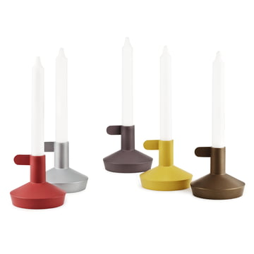 Normann Copenhagen - Flag candle holder - group with candles