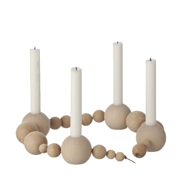 ferm Living - String Candleholder, natural