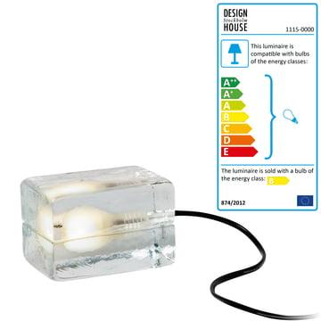 Design House Stockholm - Block Lamp Mini