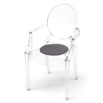 Hey Sign - Felt Pad Kartell Louis Ghost chair, anthracite 5mm AR