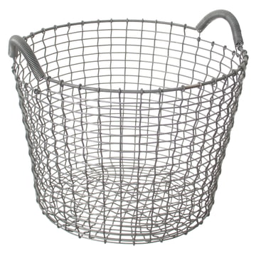 Classic 24 Wire Basket made of stainless steel by Korbo