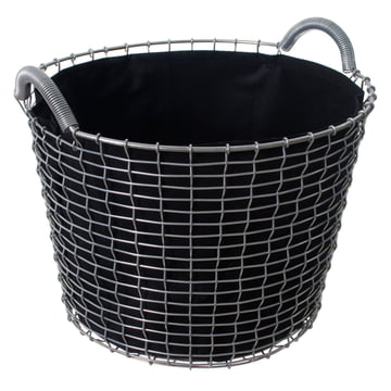 Classic 24 Wire Basket by Korbo with Plant Bag