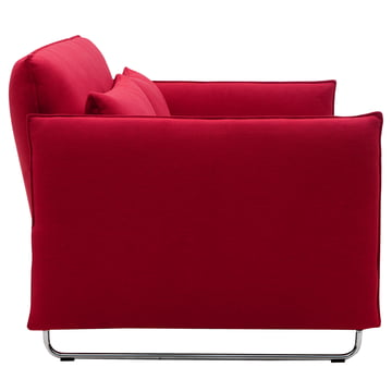 Softline - cord sofa chair, red