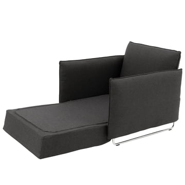 Softline - cord seat, dark grey