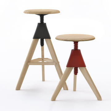 Magis - Tom & Jerry Stool - both sizes, black and red