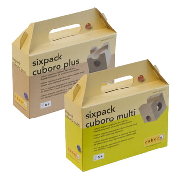 cuboro - sixpack supplementary sets, multi and plus - packaging