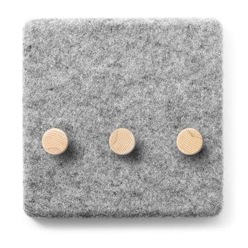 Menu - Felt Panel - coat hooks
