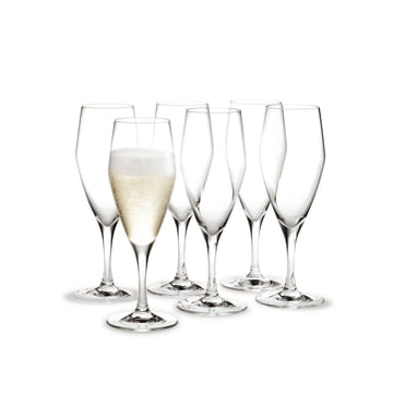 Holmegaard - Perfection Champagner-Glas, 12.5cl, 6er-Set