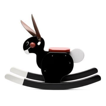 Playsam - Rocking Rabbit, black